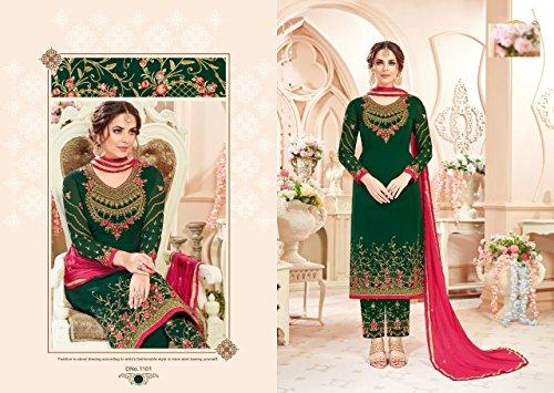 pant donne ETHNIC abito straight EMPORIUM designer vestito salwar casual pakistano kameez 2698 designer indiano suit 87aTRqUW
