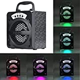 Bluetooth Speakers,AutumnFall Outdoor Bluetooth Wireless Portable Speaker Super Bass with USB/TF/AUX/FM Radio