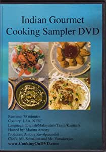Indian Gourmet cooking Sampler DVD
