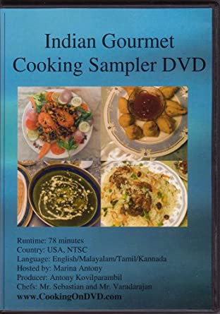 Amazon indian gourmet cooking sampler dvd marina antony image unavailable forumfinder Image collections