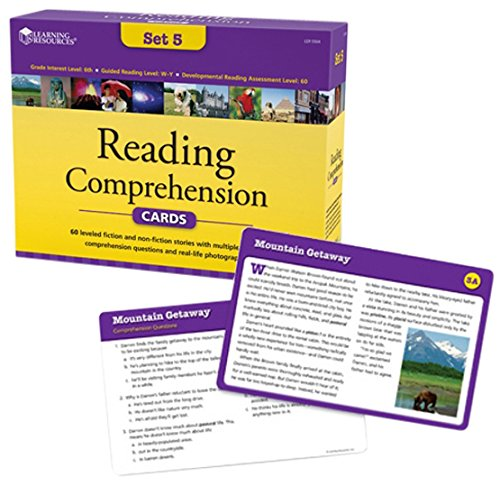 Reading Comprehension Card Set 5