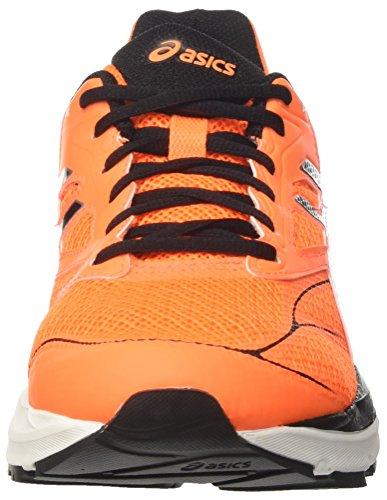 Asics Gel Pulse 8, Chaussures de Running Entrainement Homme, Orange (Rose Shocking Orange/Black/White), 44.5 EU