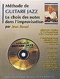 partition methode de guitare jazz j bonal cd