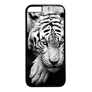 Bue Eyed Tiger Portrait Protective Durable Hard Plastic Back Fits Cover Case for iphone 6 Plus 5.5-1122045 by runtopwell