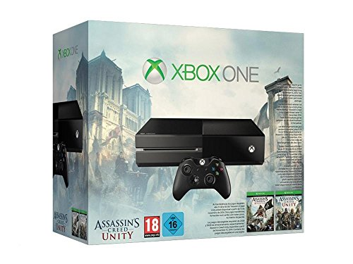 Xbox One Konsole inkl. Assassin's Creed Unity und Black Flag (DLC)