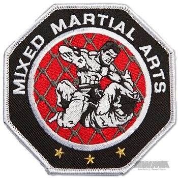 Octagon Martial Arts - AWMA Octagon Mixed Martial Arts MMA Patch