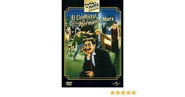 Conflicto de los hermanos Marx [DVD]: Amazon.es: Groucho Marx ...