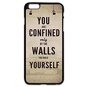 IPhone 6 Plus Cases Sayings Design Hard Back Cover Cases Desgined By RRG2G