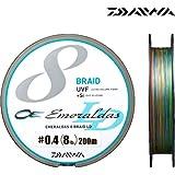 ダイワ(Daiwa) PEライン UVF エメラルダスセンサー 8ブレイドLD+Si 200m 0.6号 10lb マルチカラー