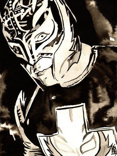 (Rey Mysterio 18x24 Print)