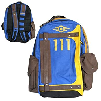 Fallout Vault Tec Suit Up 111 Armored Laptop Backpack 3