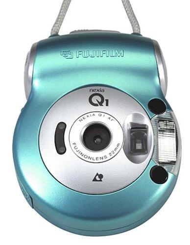 Fuji Nexia Q1 Compact APS Camera (Light Blue) by Fuji