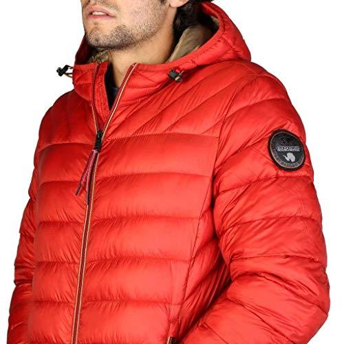 Orange Homme Napapijri Red Hood Aerons Blouson 8IwxPzRq