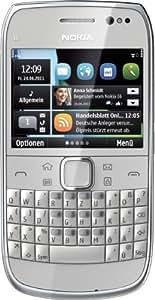 """Nokia E6-00 - Móvil libre (pantalla táctil de 2,46"""" 640 x 480, 8 GB de capacidad, teclado QWERTZ alemán, S.O. Symbian Anna) color plata"""
