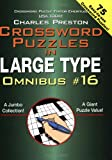 Crossword Puzzles in Large Type Omnibus, Charles Preston, 0399529918