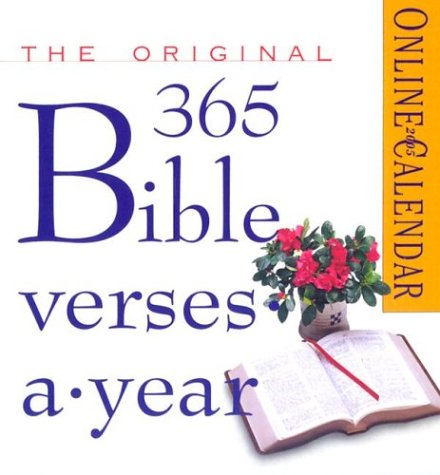 The Original 365 Bible Verses-A-Year Page-A-Day Calendar 2005 (Page-A-Day Calendars)