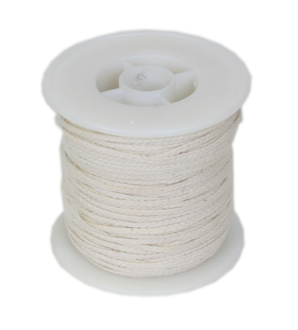 #24PLY/FT Braided Wick: 100 foot Spool Unknown