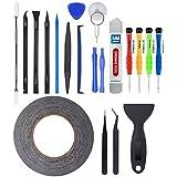 MMOBIEL® Kit Complet d'outils 21 en 1 pour Ouverture et réparation de Smartphones/Tablettes (iPhone, iPad, Samsung, Nokia, Motorola, Huawei, Sony, HTC.)