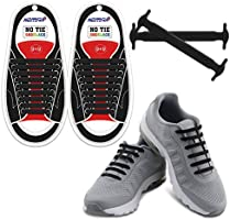 Homar No Tie Shoelaces for Kids and Adults - Waterproof Silicone Elastic Shoe Laces for Sneaker