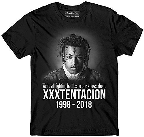 XXXTentacion t-shirt, Battles, Black and White Memorial t-shirt, Rapper, RIP t-shirt, Hip Hop