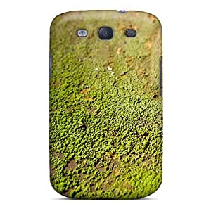 Awesome Design Rivet Moss Hard Case Cover For Galaxy S3