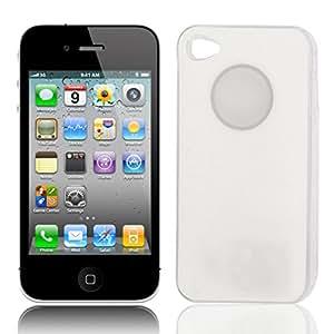 Sentido LED de luz de flash cubierta trasera para el iPhone 4 4S