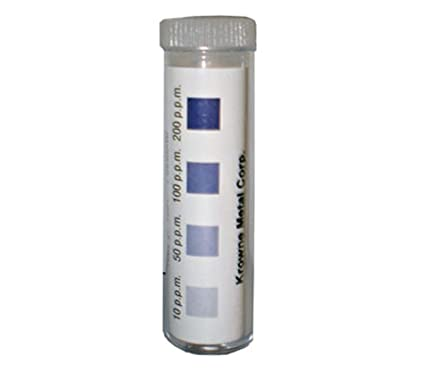 Bulk test chlorine test strip dispensers foto 428