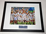 2015 Usa Womens Soccer Team Signed Framed World Cup 11x14 Alex Morgan Proof - Autographed Soccer Photos