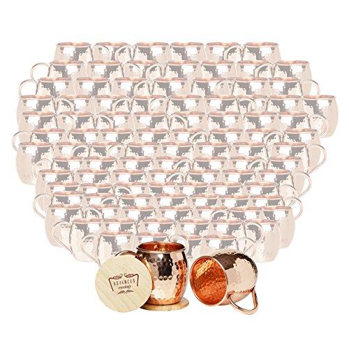 Set of 100 Advanced Mixology Barrel Mugs (Copper Handle) by Advanced Mixology