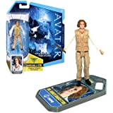 Mattel Year 2009 James Cameron's AVATAR Highly Articulated Detailed Movie Replica 4 Inch Tall Action Figure - DR. GRACE AUGUSTINE with Level 1 Webcam i-Tag (R2299)