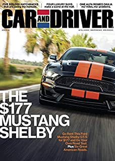 Car And Driver Amazon Com Magazines