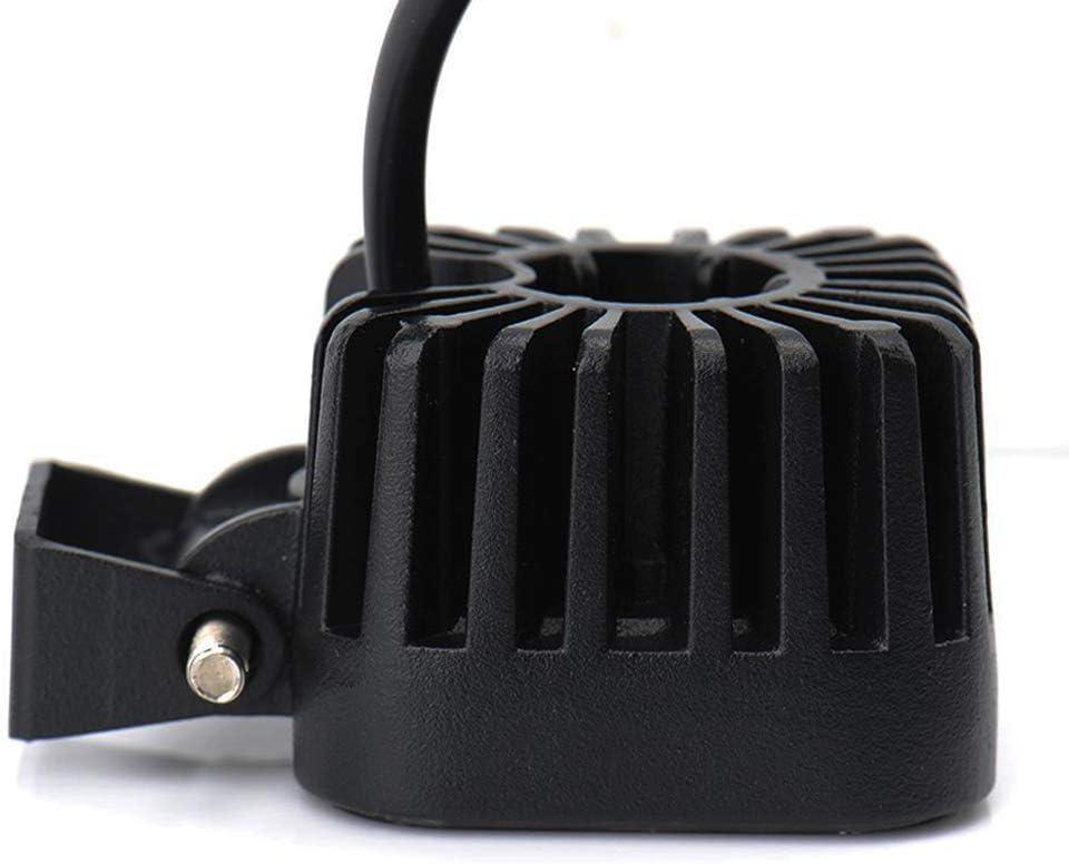 12 Watt Leetop 12W LED Scheinwerfer IP67 Wasserdicht LED Arbeitsscheinwerfer 12V 24V Auto Flutlicht R/ückfahrscheinwerfer