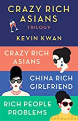 """TheNew York Timesbestselling Crazy Rich Asians series reveals the outrageous world of high-net-worth society with humor and heart.Crazy Rich Asiansis now a major motion picture.  """"There's rich, there's filthy rich, and then there'scrazy..."""