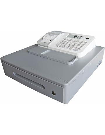 Casio SE-G1MB-WE - Caja registradora (cajón grande para dinero, impresora