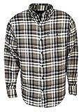 #7: G.H. Bass & Co. Men's Long Sleeve Fireside Plaid Flannel Shirt