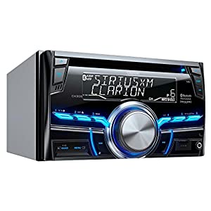 Clarion CX305 2-Din Bluetooth/CD/USB/MP3/WMA Receiver 13-Segment, 10-Digits X 2-Line Display Wireless Remote Control