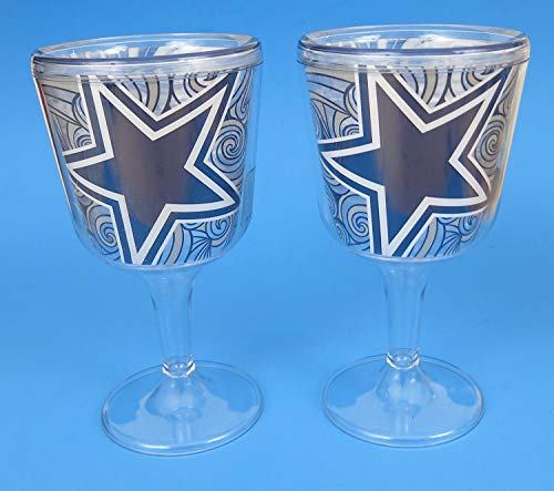 cowboy wine glasses - 4