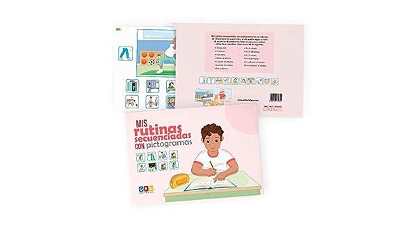 Aprendo mis Rutinas Diarias: Secuencias con pictogramas | Versión Chico | educación especial Infantil y pedagogía | Editorial Geu Láminas Visuales: Amazon.es: Editorial Geu: Libros