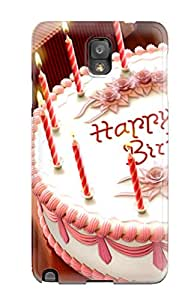 Brand New Note 3 Defender Case For Galaxy (happy Birthday For Mobile)