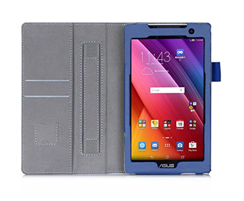 sports shoes 7f1d0 f5516 ASUS ZenPad Z170C Case, IVSO® ASUS ZenPad 7.0 Case - High Quality Leather  Slim-Book Stand Cover Case-Will Only Fit ASUS ZenPad 7.0 (Z170C) /ASUS ...