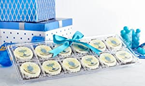 12 Pack Dreidel and Menorah Chanukah Chocolates Gift