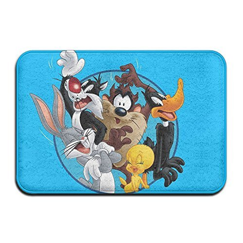 QIDAMIAO Marvin The Martian Looney Tunes Non Slip Personalized Doormat/Area Rugs