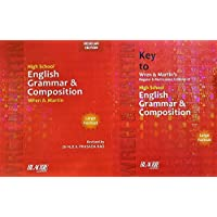 Wren and Martin English Grammar and Composition (Regular Edition) + Key to Wren and Martin English Grammar & Composition - COMBO PACK