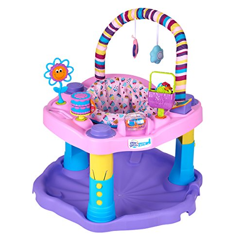 Evenflo Exersaucer Bounce and Learn Sweet Tea, Party ()