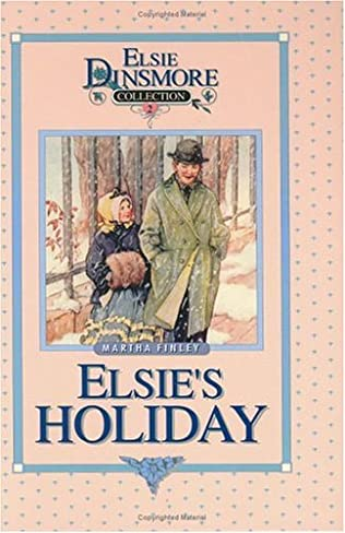 book cover of Elsie\'s Holiday At Roselands