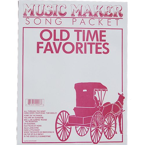 European Expressions Intl Old Time Favorites #1 Music for The Music Maker - Music Maker Song Sheets