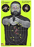 airsoft bullets red - Splatterburst Targets - 12 x18 inch -