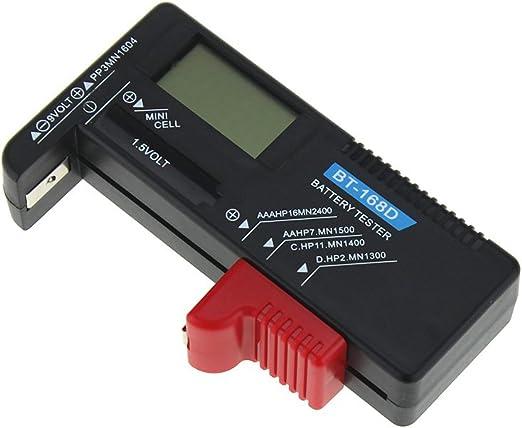 Batterie Testeur Numérique Testeurs de piles Affichage Numérique