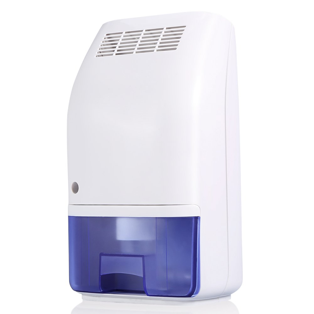 Dehumidifier,700ml Large Tank Compact Small Auto Min Dehumidifier up to 215 Square Feet per Day Ultra Quiet Lightweight Portable Dehumidifier for Small Rooms Bathroom,Bedroom,Wardrobe Room,Closet