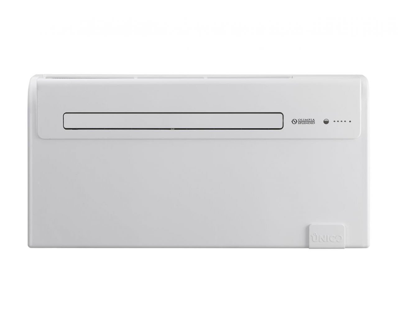 OLIMPIA Splendid Unico Air 8SF PowerCoil Taraud 1800 W Blanc Wall Air Conditioner fenêtre et climatisation mural Pass-Through (230 V, 50 Hz, 700 W, Blanc, 978 mm, 164 mm)